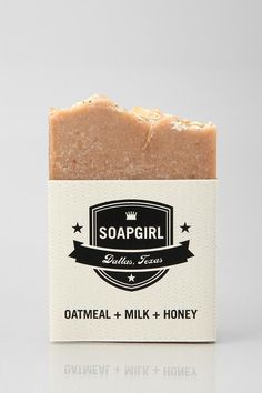 All-natural Soap Girl soap, handmade in small batches! Made in the USA, smells divine.