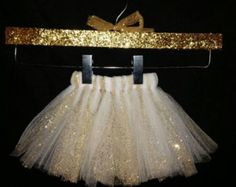 gold and white tutu - Google Search