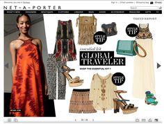 Heh, de har nettopp hatt dobbeltside Global traveller i Net-a-porter: http://www.net-a-porter.com/magazine#/128/25