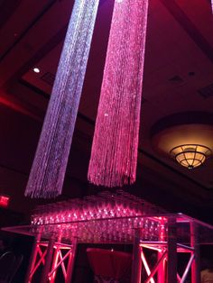 Cool Lighting: ACI's Holiday Party at the Embassy Suites Omaha La Vista