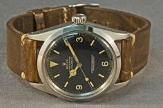Watches Ideas 1960 Rolex 1016 Explorer, Gilt Chapter Ring Dial, Excellent Example Discovred by : Todd Snyder Men's Watches, Cool Watches, Diesel Watches For Men, Luxury Watches For Men, Vintage Rolex, Vintage Watches, Watches Photography, Rolex Explorer, Rolex Datejust