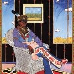 Tommy Wayne Cannon was an important Native American artist of the 20th century. An enrolled member of the Kiowa Tribe and of Caddo, French, and Choctaw descent, he was popularly known as T.C. Cannon.