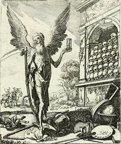 """historicalbookimages: """"page 34 of """"Die menschliche Sterblichkeit unter dem Titel Todten-Tanz, in LXI. Original-Kupfern"""" (1759) """""""