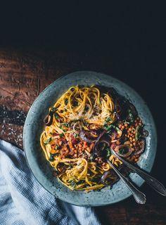 Linssiragu (V) eli maailman paras spagetti bolognese