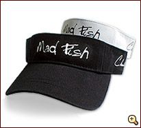 Charlie Moore the Mad Fisherman visor for Eric