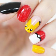 ‪#‎PokémonGo‬ Tip: Have the cutest nails in the game. Recreate this manicure with ‪#‎BarielleShades‬: -Jet -Vivid  -Lemondrops  -Enduring ‪#‎anime‬ ‪#‎nintendo‬ ‪#‎pikachu‬ ‪#‎shinypokemon‬ ‪#‎pokemonxy‬ ‪#‎pokemoncommunity‬ ‪#‎pokeball‬ ‪#‎gamer‬ ‪#‎Pokémon‬ ‪#‎PokémonManicure‬ ‪#‎PokémonNails‬ (: Je suis vernie  )