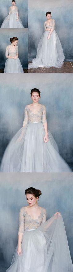 2017 Cheap Custom Charming Tulle Elegant Fashion Affordable Wedding Dress, 2018 Prom dress, PD0340