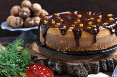 Jak przygotować święta Bożego Narodzenia? - niebo na talerzu Polish Recipes, Chocolate Cheesecake, Christmas Deco, Cakes And More, Cheesecakes, Pudding, Plates, Cooking, Food