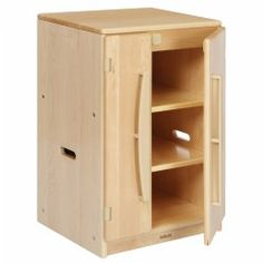 Premium Solid Maple Toddler Refrigerator