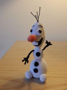Miniature Olaf by Dawn Holbrook