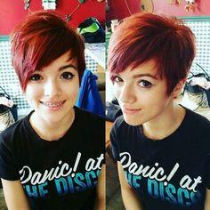 Cute, Short Pixie Haircut