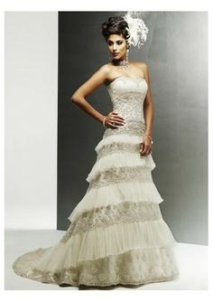 Ivory Wedding Dresses | Smart Wedding Ideas: Sexy Ivory Wedding Dress