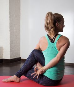 That extra helping seemed like a great idea—until it wasn't. These twists and stretches should... http://greatist.com/move/yoga-poses-digestion