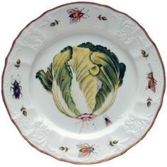 Antique Vegetables Dinnerware by Anna Weatherley | Gracious Style