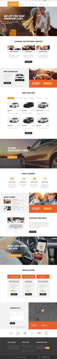 Cars4Rent is a stylish and powerful responsive #WordPress theme for online #car and taxi #rental service website download now > https://themeforest.net/item/cars4rent-car-rental-taxi-service/19669503?ref=Datasata