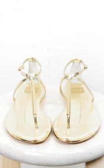 Gold Archer Sandals