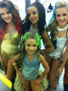 brooke nia mackenzie and Chloe at lux's music video season 1.