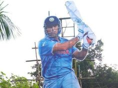 Trending - This cut out of MS Dhoni shows he continues to rule fan's hearts - Trends India Cricket Score, Cricket News, India West, West Indies, Ms, Celebrities, Hearts, Trends, Celebs