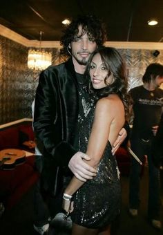 Chris Cornell & his wife Vicky