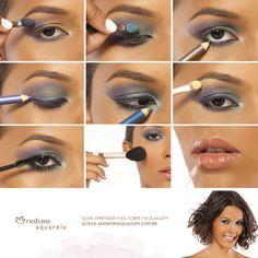 Arrisque, misture e combine! http://www.adoromaquiagem.com.br/dicas-maquiagem/novidades-tendencias/maquiagem-colorida-para-o-carnaval/16365/ #maquiagem #cores