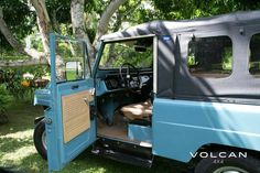"""Begging for a drive. 'Indigo' is our rare-to-the-US, """"Hemmings Pick"""" 1979 Nissan Patrol from Volcan Toyota Fj40, Nissan Patrol, Toyota Land Cruiser, 4x4, Indigo, Classic Cars, Restoration, Unique, Vehicles"""