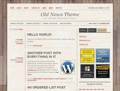 old-news-theme