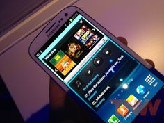 Hands-on with the brand new Samsung Galaxy S III