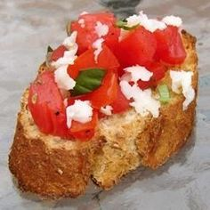 A delicious Italian appetizer that was divided and revised and modified over several years. I hope you enjoy it ...