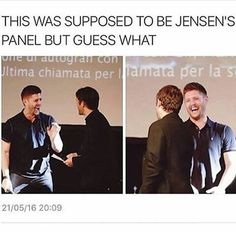 Payback for when he crashed Misha's panel!