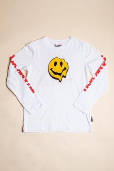 NEW DEEP MEANING Kanye West Kid Cudi Kids See Ghosts Shirt Smile Face T-Shir