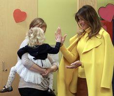 First Lady Melania Trump @ Cincinnati Children's Hospital