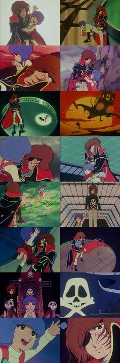 Captain Harlock - this is SO cute!