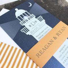 cool 12 lighthouse wedding invitations