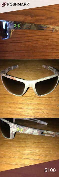 ❗️Like New UA Polarized Sunglasses Under Armour Real Tree Camo Polarized Sunglasses Under Armour Accessories Sunglasses