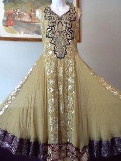 NEW PAKISTANI INDIAN FANCY WEDDING SHAADI SHALWAR KAMEEZ DRESS 3PC MEDIUM SUIT #SHALWARKAMEEZ