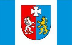 Flag of Podkarpackie (Subcarpathia), Poland