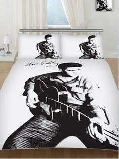 Elvis design bedding