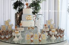 Batizado | Ursinho  baptism decorations // party decorations ideas // little bear
