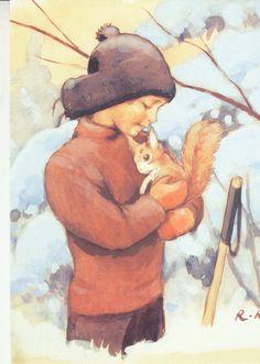 Rudolf Koivu - Pojalla orava sylissä. - Huuto.net