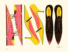 Lap Partners, #shoes #illustration