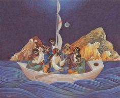 Γ. Κόρδης Richard Burlet, Byzantine Icons, Greek Art, Orthodox Icons, Religious Art, Surrealism, Modern Art, Mosaic, Surfing
