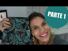 Confecção Saia Evasê parte1 | Cortando, fechando, pences e costura dupla - YouTube