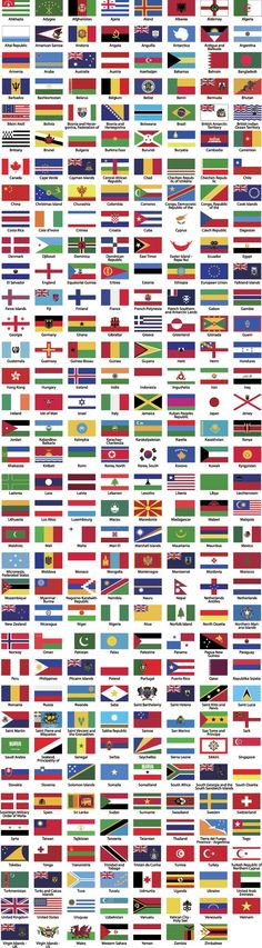 287 World Flags by AfarCreations 287 countries flag sets.The set can be used for several purposes like: websites, print templates, presentation templates, promotio North America Geography, North America Continent, Flags Of The World, Countries Of The World, Political Symbols, Political Science, States And Capitals, Other Ways To Say, Education Logo