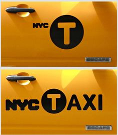Steven Heller on the New NYC Taxi Logo