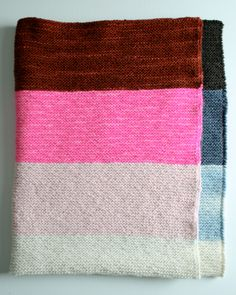 Whit's Knits: Super Easy LapBlanket | Purl Soho