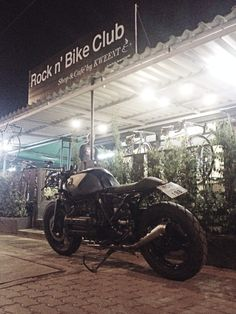 BMW K1100 Cafe In Thailand.