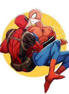 170 Best SpidyPool images in 2019 | Deadpool x spiderman