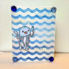 Sea Ya Soon - Some Odd Girl Jellyfish #digi. #someoddgirlcritters