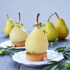 Elegant Desserts, Fancy Desserts, Sous Vide Dessert, Gourmet Recipes, Cooking Recipes, Gourmet Foods, Michelin Star Food, Cafe Food, Eat Dessert First
