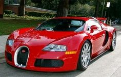 Beautiful Bugatti Veyron - click on the pic, sign up & review this car to win $250 worth of gas money this month! :)